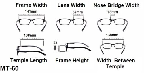 1.0+1.5+2.0+2.5 MT60//1  Grey Sun Readers Spring Hinged Acetate Reading Glasses