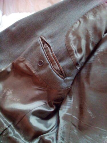 Giacca Uomo J&T made in England Verde in Lana taglia 50 slim