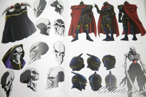 3-7 DaysAnime Overlord II III Complete Design Materials Art Book from JP