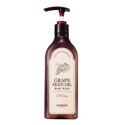 SKINFOOD Grape Seed Oil Body Wash 335ml - Korea Cosmetic
