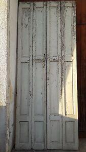 4-VOLETS-PORTES-BOISERIES-BOIS-PEINT-EP-1940-H270-cm