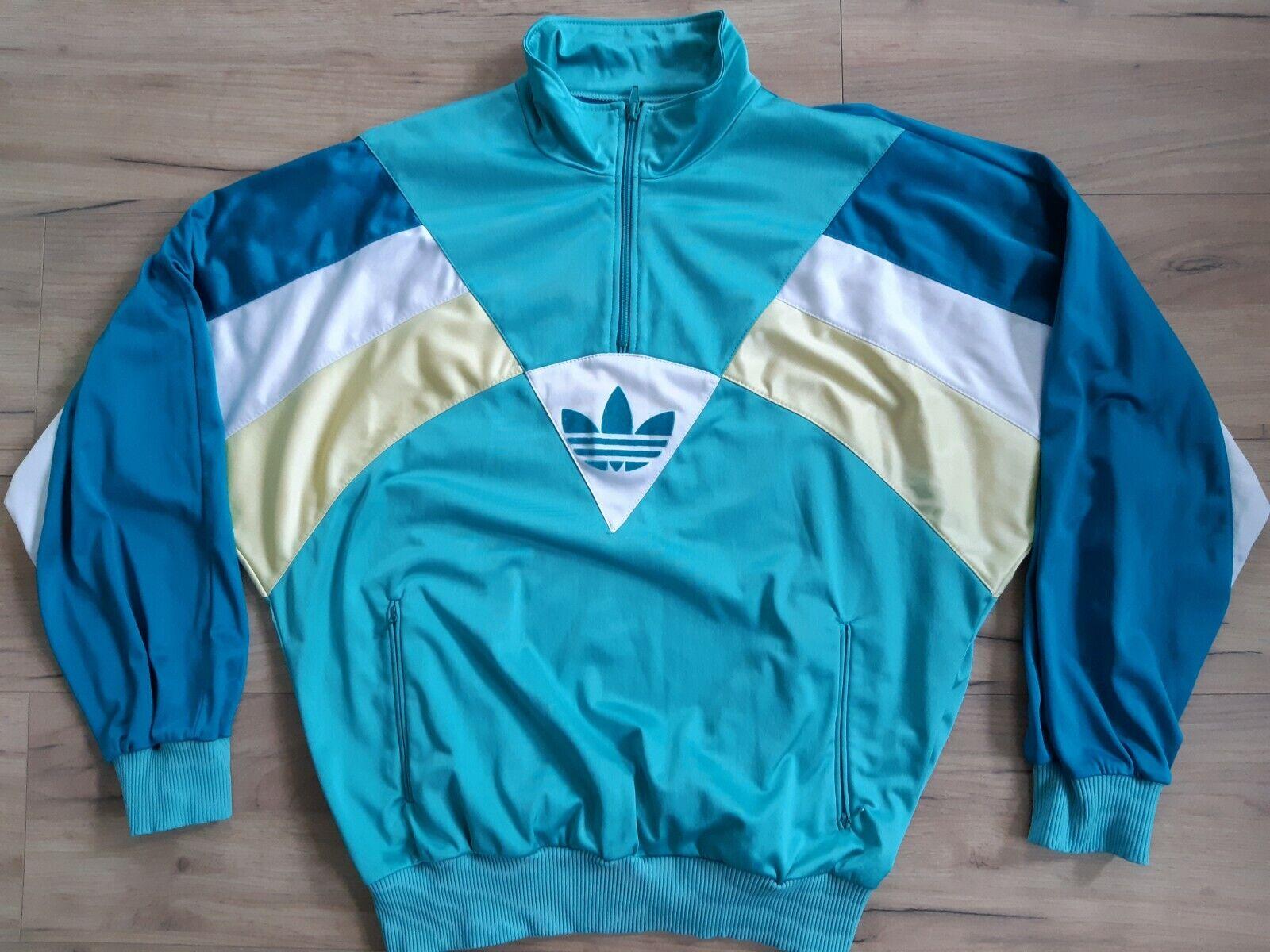 ADIDAS AUSTRIA! track jacket sweatshirt top retro vintage 90's! 5,5/6 ! M adult