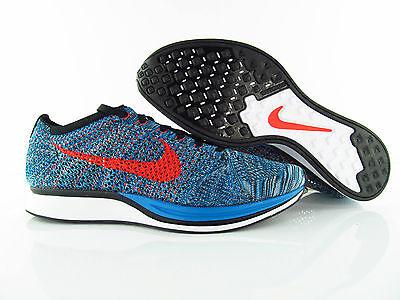 Angemessener Preis Nike Flyknit Air Max Schwarz Blau Turbo