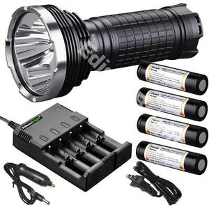 fenix tk75 2015 cree led 4000 lumen flashlight w 4x fenix 18650 batteries chrgr ebay. Black Bedroom Furniture Sets. Home Design Ideas