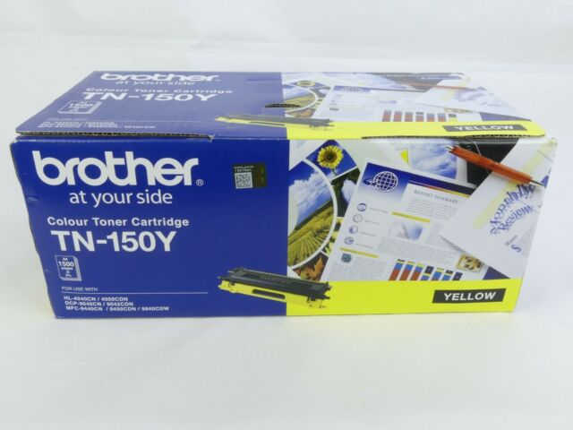 Brother TN-150Y Toner Cartridge Yellow - NEW - GENUINE