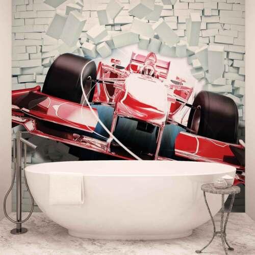 WALL MURAL PHOTO WALLPAPER XXL Formula 1 Racing Car Bricks 2774WS