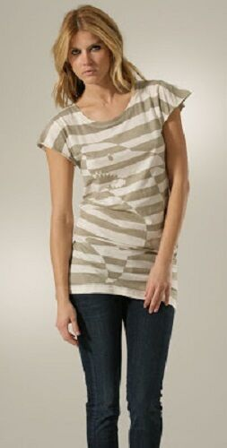 NWT Marc by Marc Jacobs MMJ Herb Multi Striped Shark Tunic Top Tee XS S M