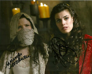 Once-Upon-A-Time-Meghan-Ory-Ginnifer-Goodwin-Signed-Autographed-8x10-Photo-COA