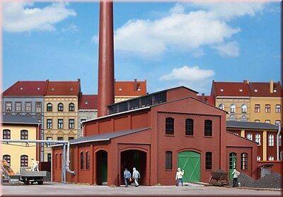 11431 Auhagen Heizhaus Con Ciminiera Traccia H0-mostra Il Titolo Originale Colore Veloce