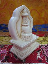 TIBETAN BUDDHIST STUPA CHORTEN STATUE REPRESENTS BUDDHA'S MIND ALTAR/SHRINE USA