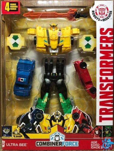 Transformers Robots In Disguise COMBINATORE Force.. Ultra BEE Action figure Kids