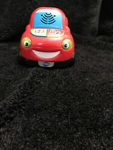 Vtech Move And Zoom Racer Car Only Working Red As4L55