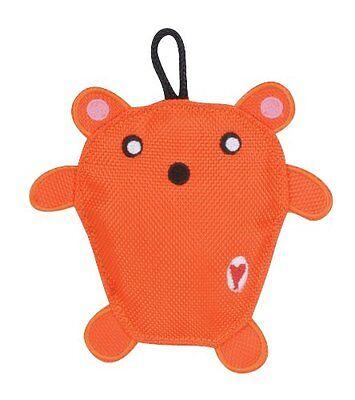 Hugglehounds Wee Orange Bear Sport Edition Durable Dog Toy. Free Ship To The Usa Om Een Ongewoon Uiterlijk Zeker Te Stellen