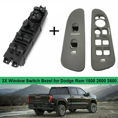 Master Power Window Switch 56049805AB Replacement for Dodge Ram 1500 2500 3500 2002-2010 Dodge Dakota 2001-2004 Dodge Durango 2001-2003