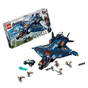 BRAND NEW Lego 76126 Marvel Avengers Ultimate Quinjet Building Set