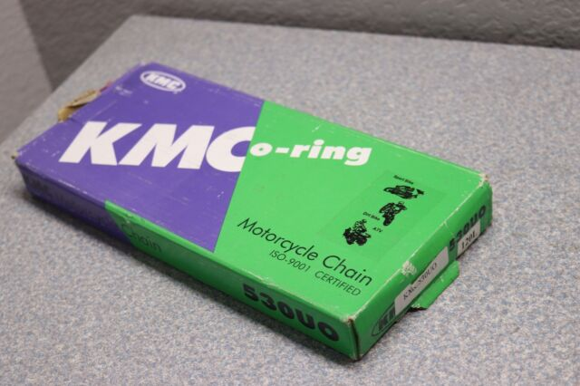 KMC O-Ring Motorcycle Chain 530-120 Links 530UO 120L 530x120