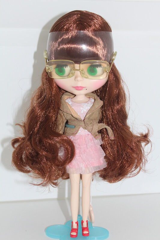 Takara12  Neo Blythe Nude Doll Curly Hair  from Factory TBY265