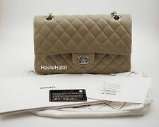 e4f3ac8e9180 item 3 CHANEL TAUPE DARK BEIGE CAVIAR QUILTED CLASSIC MEDIUM LARGE FLAP BAG  SILVER HW -CHANEL TAUPE DARK BEIGE CAVIAR QUILTED CLASSIC MEDIUM LARGE FLAP  BAG ...