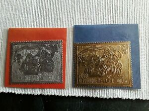 Briefmarken-Obervolta-316-17-postfrisch-einwandfrei