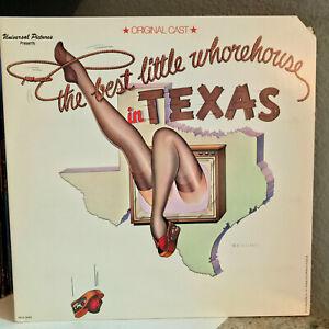 "BEST LITTLE WHOREHOUSE IN TEXAS Soundtrack (Orig Cast) 12"" Vinyl Record LP - EX"