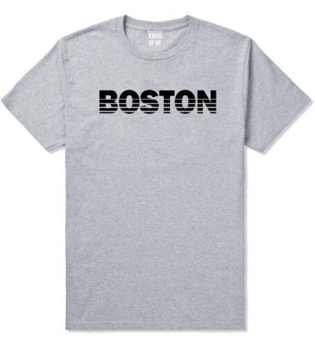 Boston Massachusetts State City Short Sleeve T-Shirt