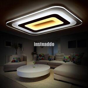 Image Is Loading Modern Acrylic LED Ceiling Lighting Living Room Lights