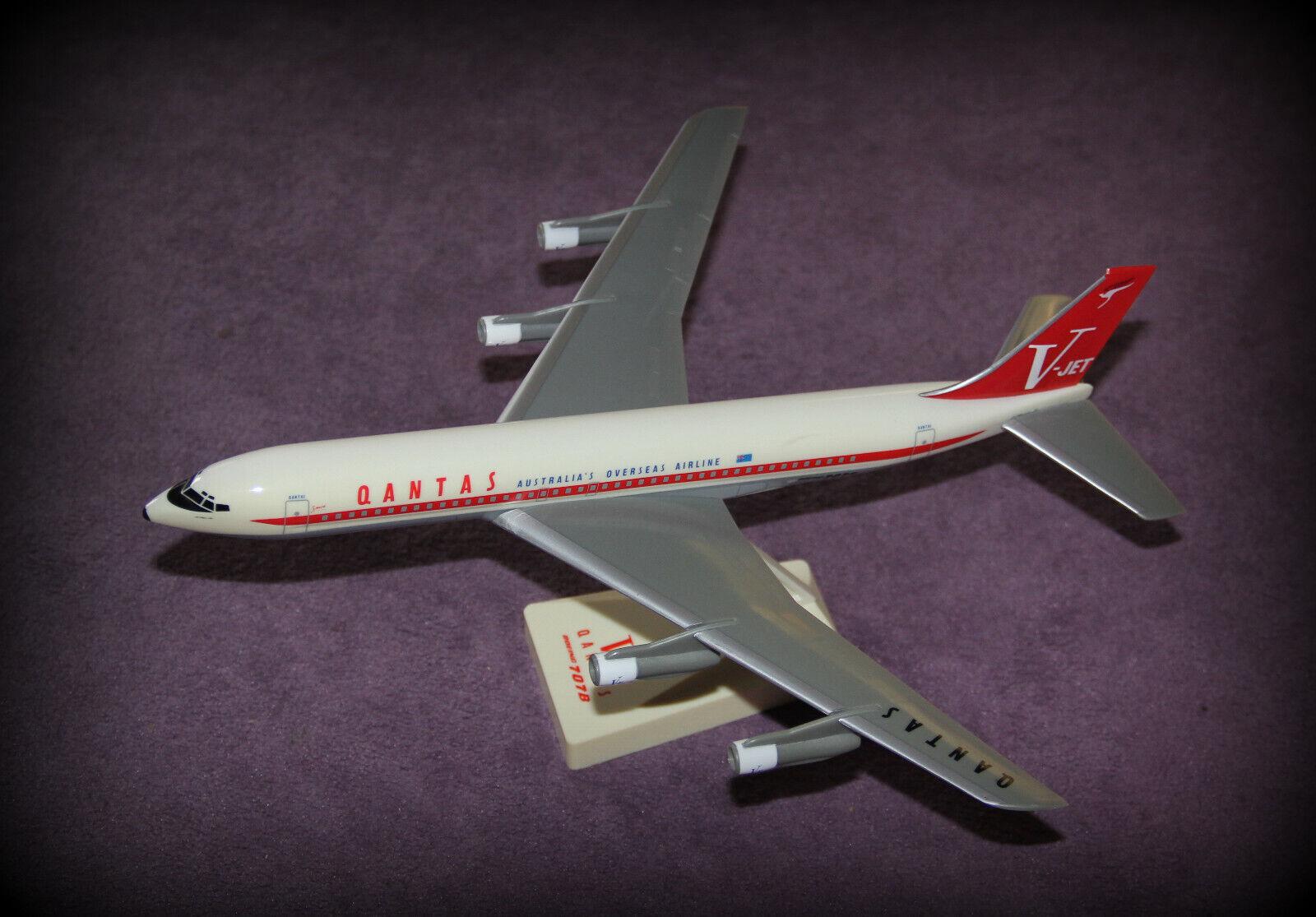 modellolo di aereo Qantas 707b VJet Spirit of Friendship J. Travolta Aircraft modellolo