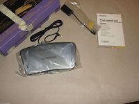 Sony Fs-85b50 Foot Control Unit 4 Minidisc Md Recorder Mz-b10 Mz-b100 Transcribe