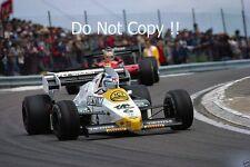 KEKE ROSBERG Williams FW09 FRENCH GRAND PRIX 1984 fotografia 2