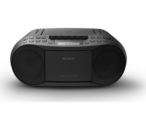 SONY-CFD-S70-PORTABLE-CASSETTE-RADIO-BOOMBOX-CD-PLAYER-FM-AM-TUNER-MEGA-BASS