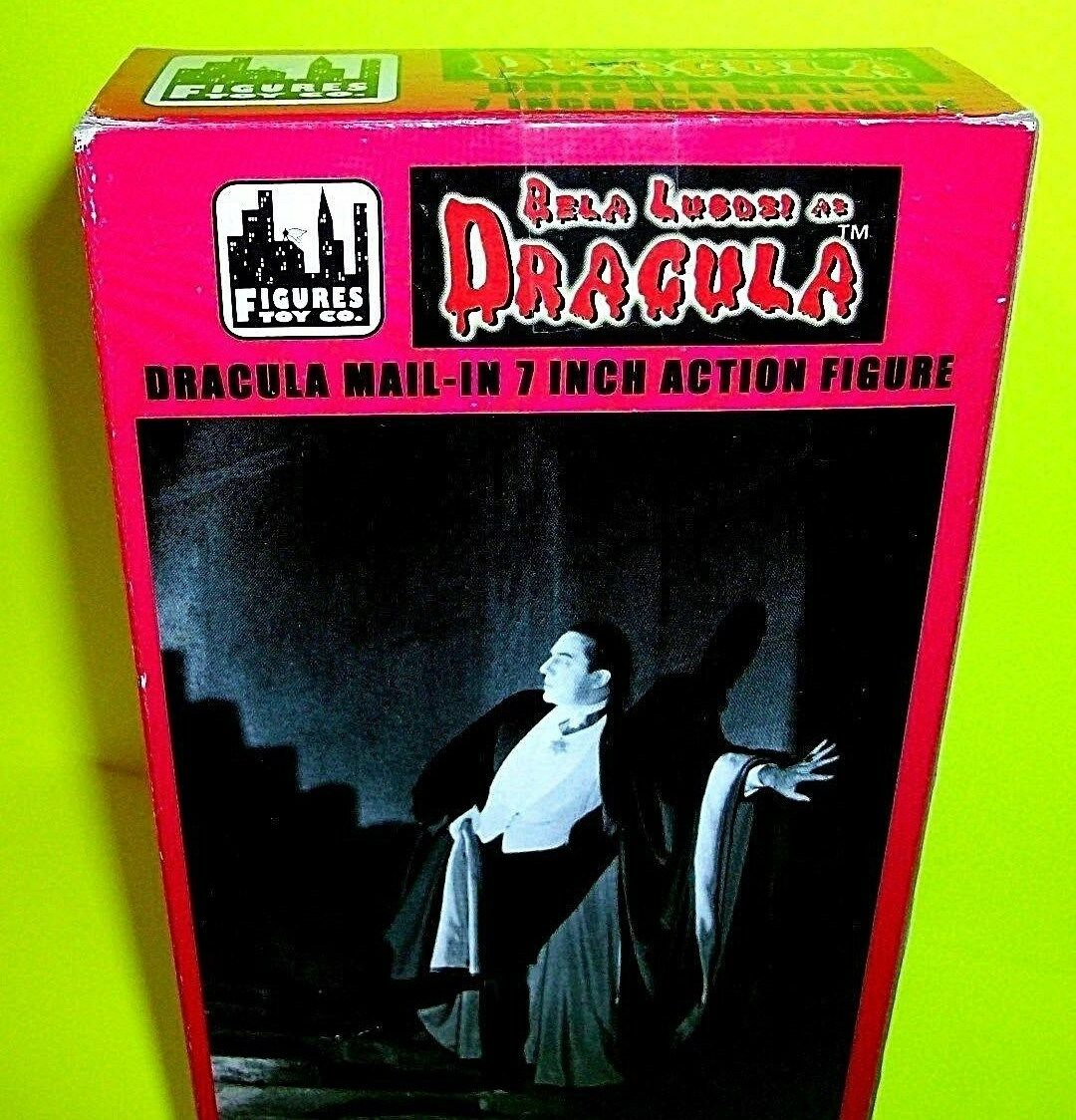 DRACULA Bela Lugosi 7  Action Figure Super Super Super RARE bluee Variant Mail-In Away BEAUTY 468f0d