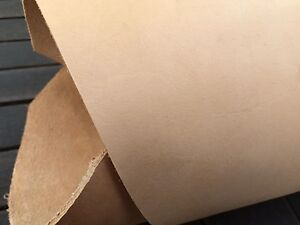 Vegetable-tanned-cow-hide-natural-tooling-leather-strip-120-cm-x-65-cm-x-3-5-mm