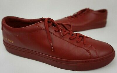 Achilles Low Red Sneakers Size 43 EU