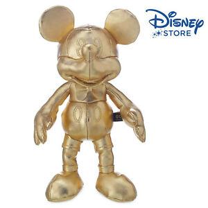 Disney-GOLD-Collection-TOPOLINO-MICKEY-MOUSE-peluche-imbottito-25CM-ORO-NUOVO
