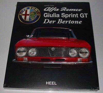 Snelle Levering Bildband Alfa Romeo Giulia Sprint Gt Der Bertone Johnny Tripler Heel Neu! Zorgvuldig Geselecteerde Materialen