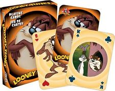 TAZ - LOONEY TUNES - PLAYING CARD DECK - 52 CARDS NEW - DEVIL 52314