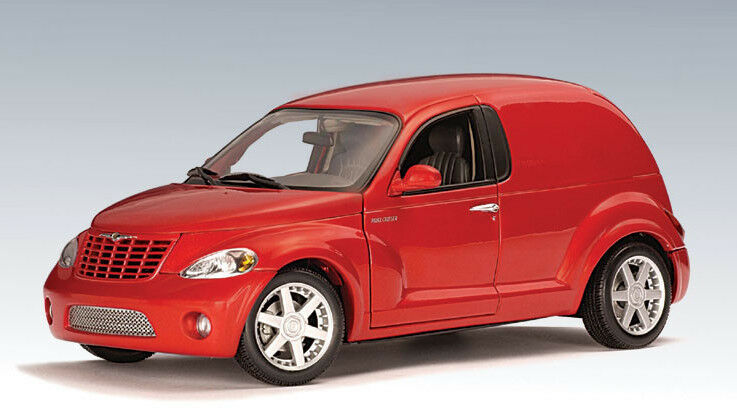 2000 chrysler panel Cruiser [Autoart 71532] rojo, 1 18 la cast