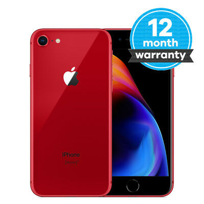 Apple iPhone 8 (PRODUCT)RED - 64GB - (Unlocked) Smartphone Pristine Condition(A)