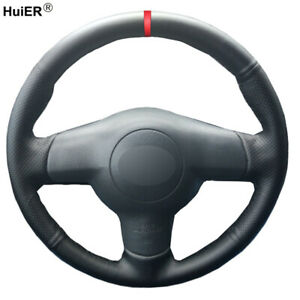 Image Is Loading Hand Sewing Car Steering Wheel Cover For Toyota