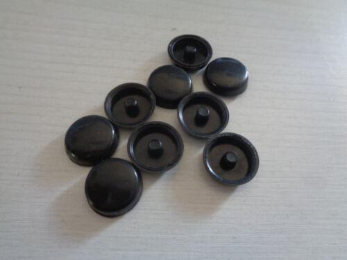 und Linsenkopf Z3 dunkelbraun Abdeckkappe überlappend schwarz für Senk