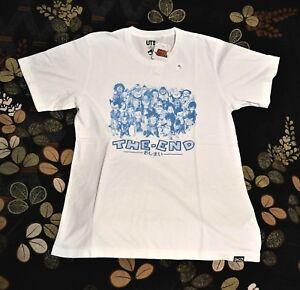 US,EURO M=S VEGETA /& TRUNKS DRAGON BALL X UNIQLO Shonen Jump 50th T Shirt L=M