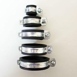 10-x-Rohrschelle-10-x-Duebel-10-x-Stockschraube-in-verschiedene-Groessen
