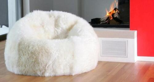 New Shaggy Lush White Soft Luxury Faux Fur