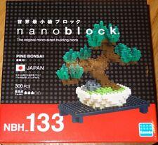 Pine Bonsai Nanoblock Micro Sized Building Block Mini Brick Kawada NBH133