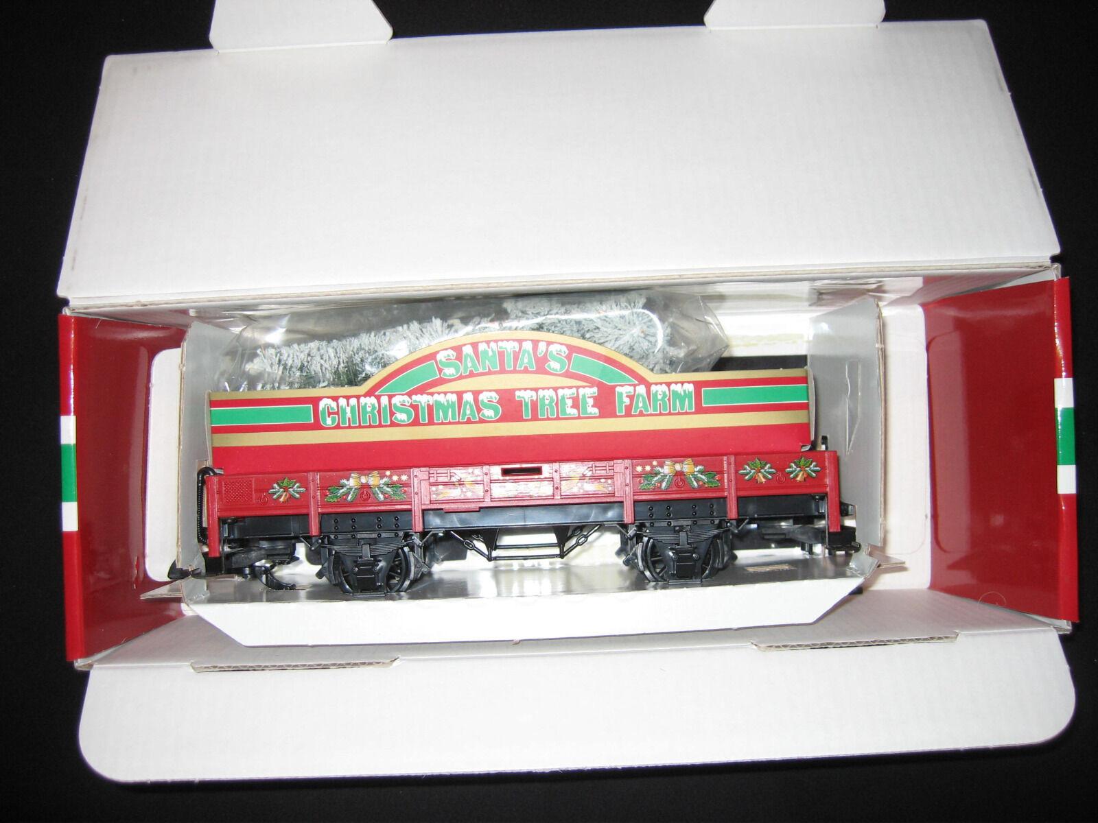 LGB 42103 SANTAS S Christmas Tree Farm Car NEU OVP