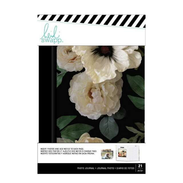 "American Crafts Heidi Swapp Photo Journal 8/""X5.33/""-Magnolia Jane Kraft"