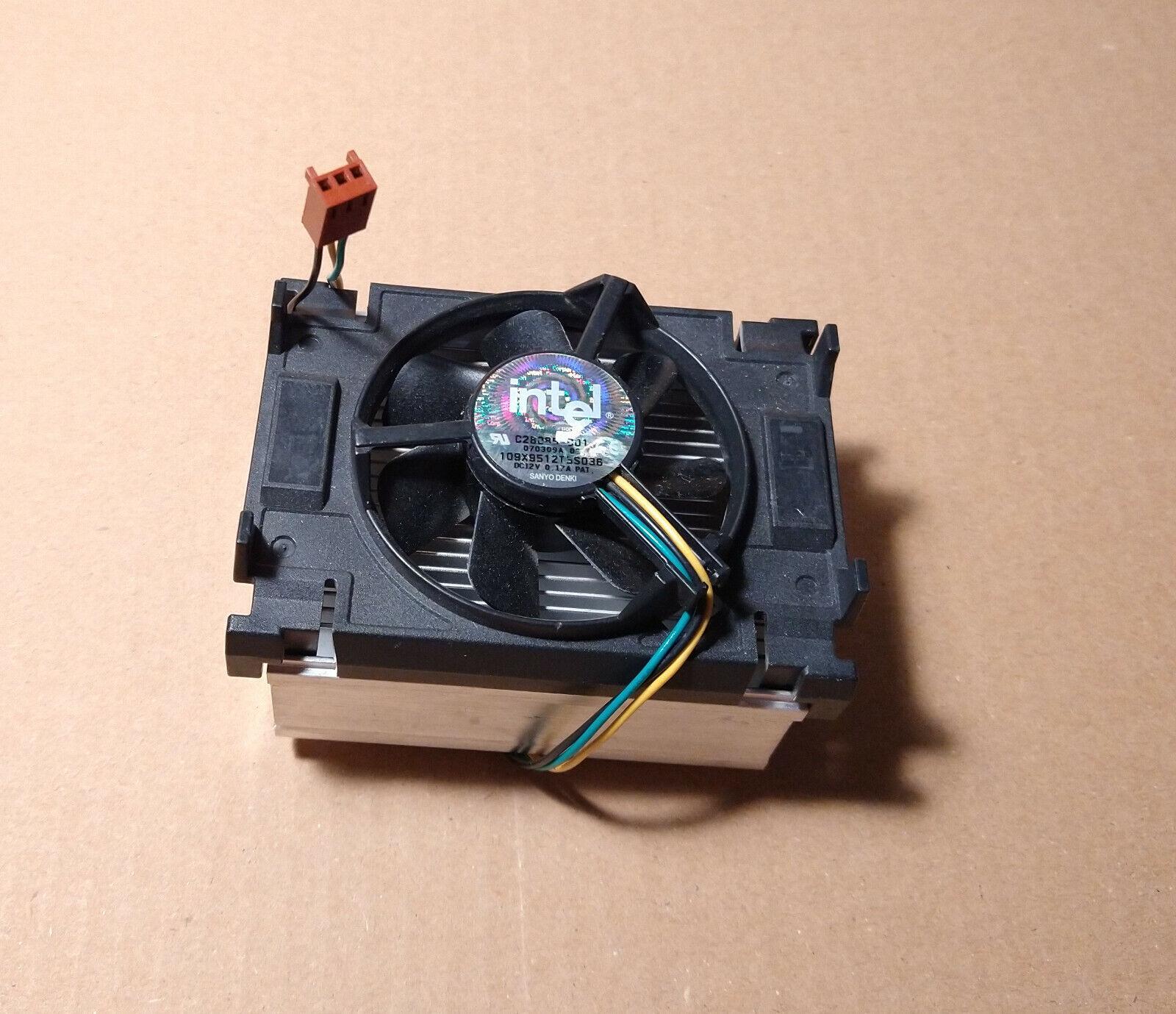 Intel heat sink and fan - C28085-001 109X9512T5S036 - Socket 478
