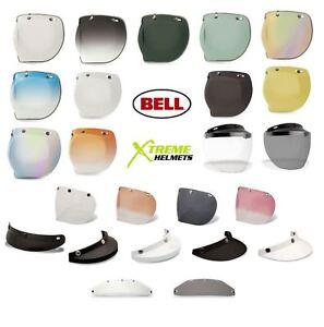 67dfb882 Bell Custom 500 3 Snap Shield Visor Universal Bubble DLX Retro Flip ...