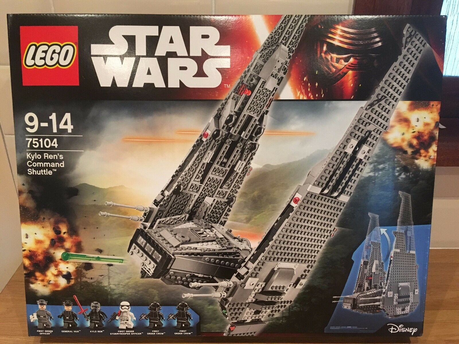 Lego  STAR WARS 75104 Kylo Ren's Command Shuttle  Brand new factory sealed