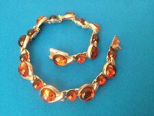Bracelet Polonais Argent 925 & Ambre / Polish Jewelry Sterling Silver & Amber